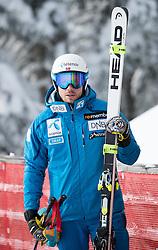 17.01.2017, Hahnenkamm, Kitzbühel, AUT, FIS Weltcup Ski Alpin, Kitzbuehel, Abfahrt, Herren, Streckenbesichtigung, im Bild Kjetil Jansrud (NOR) // Kjetil Jansrud of Norway during the course inspection for the men's downhill of FIS Ski Alpine World Cup at the Hahnenkamm in Kitzbühel, Austria on 2017/01/17. EXPA Pictures © 2017, PhotoCredit: EXPA/ Johann Groder
