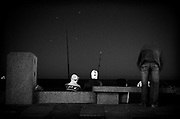 Javier Calvelo/ URUGUAY/ MONTEVIDEO/ Rambla Sur. MONTEVIDEO - ciudad ocre<br /> En la foto:  Foto: Javier Calvelo <br /> 20140414  dia lunes