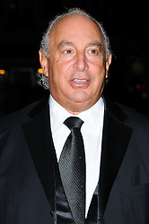 Sir Philip Green arrives at the Daily Mail Inspirational Woman of The Year Awards, London, Wednesday January 18, 2012. Photo By i-Images