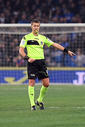 24.01.2018, Stadio Luigi Ferraris, Genua, ITA, Serie A, Sampdoria Genua vs AS Roma, 3. Runde, im Bild orsato daniele arbitro // orsato daniele referee during the Italian Serie A 3th round match between Sampdoria Genua and AS Roma at the Stadio Luigi Ferraris in Genua, Italy on 2018/01/24. EXPA Pictures © 2018, PhotoCredit: EXPA/ laPresse/ Tano Pecoraro<br /> <br /> *****ATTENTION - for AUT, SUI, CRO, SLO only*****