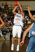 BORMIO, GIUGNO 2004<br /> AMICHEVOLI PRE OLIMPIADI ATENE 2004<br /> NELLA FOTO: GIANMARCO POZZECCO<br /> FOTO CIAMILLO