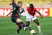 Fotball<br /> Frankrike<br /> Foto: Dppi/Digitalsport<br /> NORWAY ONLY<br /> <br /> FOOTBALL - LEAGUE CUP 2008/2009 - 1/16 FINAL - AS MONACO v PARIS SG- 24/09/2008 -  SYLVAIN ARMAND (PSG) / ADU FREDDY (ASM)