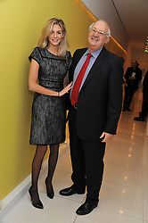 TAMSIN EGERTON and her father MICHAEL EGERTON at the pre party for the English National Ballet's Christmas performance of The Nutcracker held at the St.Martin's Lane Hotel, St.Martin's Lane, London on 14th December 2011.