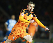 Ipswich Town striker Freddie Sears during the Sky Bet Championship match between Brighton and Hove Albion and Ipswich Town at the American Express Community Stadium, Brighton and Hove, England on 29 December 2015. Photo by Bennett Dean.