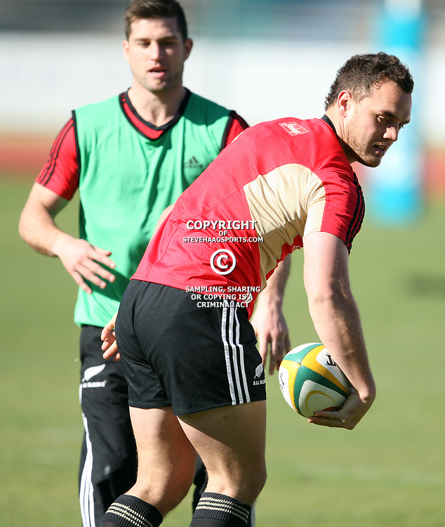 PORT ELIZABETH, SOUTH AFRICA - AUGUST 16,  during the New Zealand All Blacks training session at Xerox Arena on August 16, 2011 in Port Elizabeth, South Africa<br /> Photo by Steve Haag / Gallo Images
