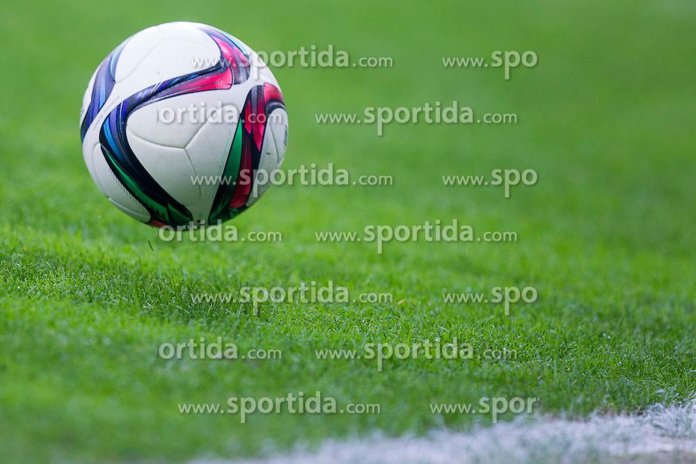 Ball during football match between NK Olimpija Ljubljana and NK Rudar Velenje in 8th Round of Prva liga Telekom Slovenije 2015/16, on August 30, 2015 in SRC Stozice, Ljubljana, Slovenia. Photo by Urban Urbanc / Sportida