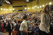 Il Sindaco di Firenze a Trento al Teatro Auditorium, Per le primarie per la Segreteria del Partito PD 10 ottobre 2012 © foto Daniele Mosna