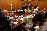 30 MAY 2007, BERLIN/GERMANY:<br /> Uebersicht zu Beginn der Treffens des Nahost-Quartetts, Auswaertiges Amt<br /> IMAGE: 20070530-02-029<br /> KEYWORDS: Nahost-Quartett, Middle East Quartet meeting, Übersicht