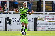 Forest Green Rovers Farrend Rawson(6) during the Pre-Season Friendly match between Bath City and Forest Green Rovers at Twerton Park, Bath, United Kingdom on 27 July 2019.