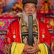 Kungshen Wangye's Salt of Peace Festival 2010, Nankunshen Daitian Temple, Beimen Township, Tainan County, Taiwan