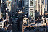 New York. elevated view of midtown panorama,   New York - United states / panorama sur midtown,New York - Etats unis