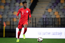 Jonathan Panzo of England during friendly Football match between U21 national teams of Slovenia and England, on October 11, 2019 in Ljudski Vrt, Maribor, Slovenia. Photo by Blaž Weindorfer / Sportida