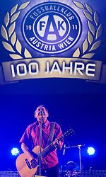 20.11.2011, Stadthalle, Wien, AUT, Jubilaeumsshow, 100 Jahre Fußballklub Austria Wien, im Bild Wolfgang Ambros, EXPA Pictures © 2011, PhotoCredit: EXPA/ M. Gruber