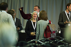 Pictured: Panelist Kate Holl from Scottish Natural Heritage was on hand to answer questions<br />  Cabinet Secretary Roseanna Cunningham joined a number of speakers addressing the The Land Use and Environment Conference, entitled Rewarding the Delivery of Public Goods - How to Achieve This in Practice in Edinburgh Toiday.  The conference was coordinated by Scotland's Rural College. <br /> <br /> <br /> Ger Harley | EEm 28 November 2018
