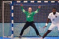 Thierry Omeyer - 26.04.2015 - Handball - Nantes / Paris Saint Germain - Finale Coupe de France-  <br /> Photo : Andre Ferreira / Icon Sport