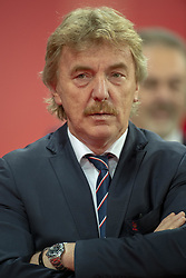 September 11, 2018 - Wroclaw, Poland - President of Polish Football Association (PZPN) Zbigniew Boniek pictured during the International Friendly match between Poland and Republic of Ireland at Wroclaw Stadium in Wroclaw, Poland on September 11, 2018  (Credit Image: © Andrew Surma/NurPhoto/ZUMA Press)