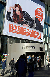 Copenhagen, Denmark, 20121012: .Shops in Frederiksberg, Copenhagen..Photo: Lars Moeller
