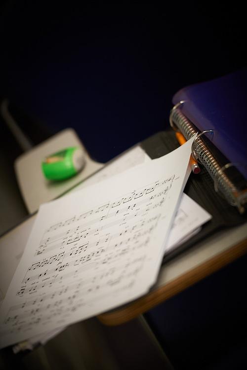 -UWL UW-L UW-La Crosse University of Wisconsin-La Crosse; day; December; Icon; Inside; Music; Notepad; Pencil; Sheet music