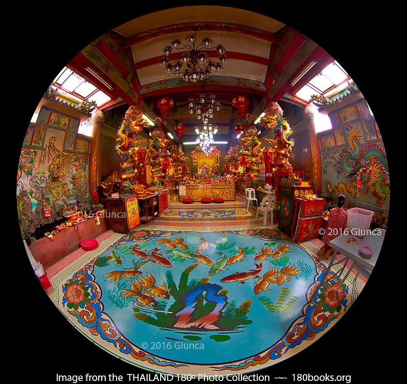 Pung Tao Kong Temple in Chiang Mai, Thailand