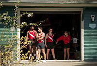 St Paul's School crew meet. ©2018 Karen Bobotas Photographer
