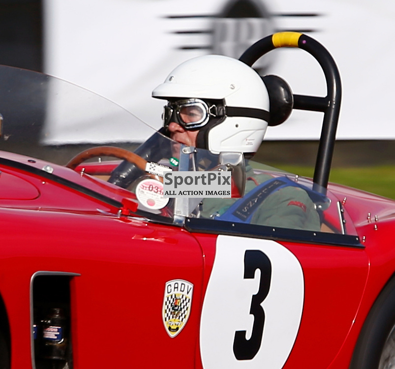 GOODWOOD REVIVAL...... Nigel Winchester in a 1959 AC Ace competing in the Fordwater Trophy...(c) STEPHEN LAWSON | SportPix.org.uk