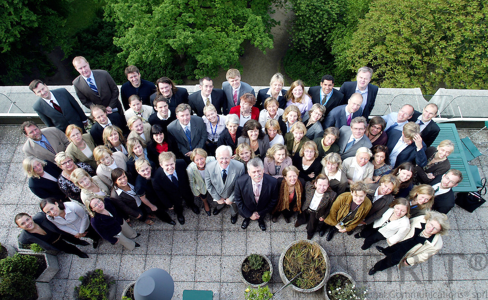 BRUSSELS - BELGIUM - 22 MAY 2006 --The staff at the Permanent Representation of Sweden to the EU. PHOTO: ERIK LUNTANG /