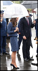 Catherine, Duchess of Cambridge and Prince William, Duke of Cambridge attend Royal New Zealand Police College in Aotea, Porirua City on April 16, 2014 in Wellington, New Zealand. The Duke and Duchess of Cambridge are on a three-week tour of Australia and New Zealand, the first official trip overseas with their son, Prince George of Cambridge..Wednesday, 16th April 2014. Picture by  / i-Images
