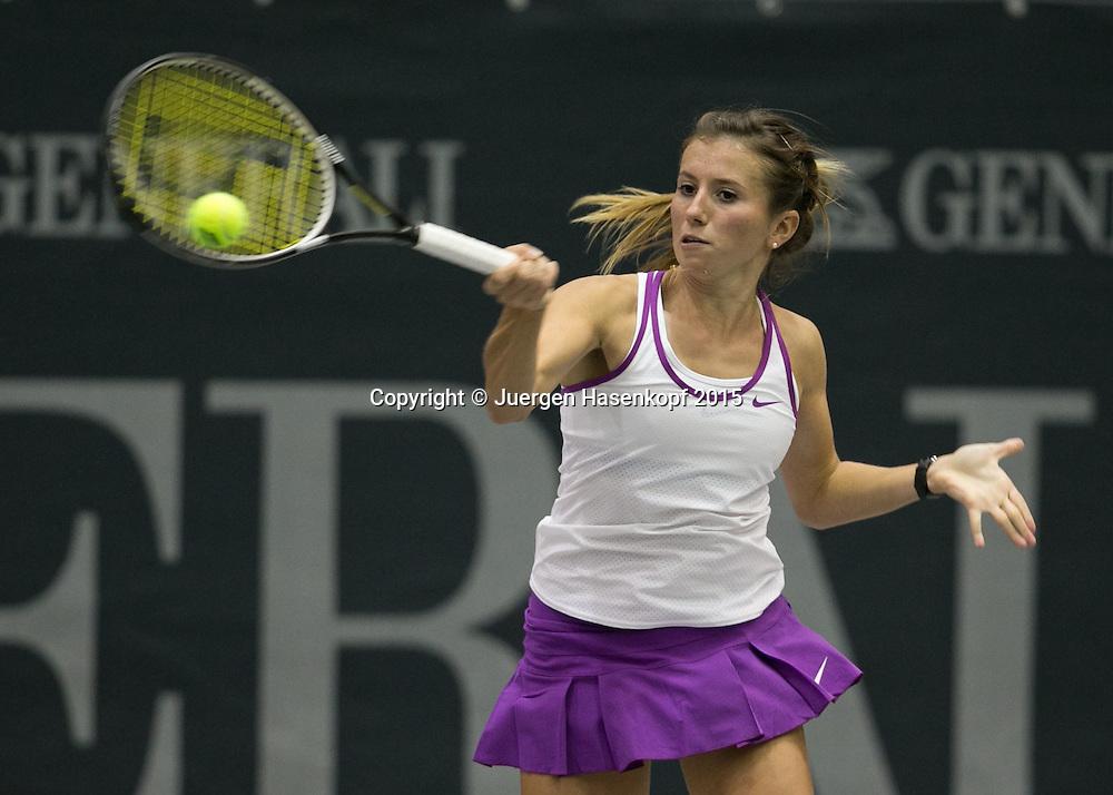Annika Beck (GER)<br /> <br /> Tennis - Ladies Linz 2015 - WTA -   - Linz -  - Oesterreich - 13 October 2015. <br /> &copy; Juergen Hasenkopf/Molter
