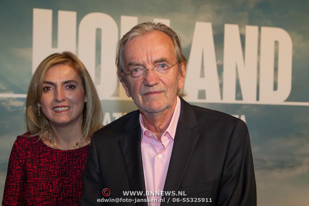 NLD/Utrecht/20150921 - Film premiere 'Holland – Natuur in de Delta', Lex Harding en partner
