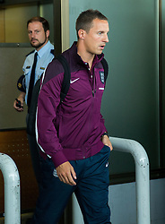 during arrival of  England National Football team 1 day before EURO 2016 Qualifications match against Slovenia, on June 13, 2015 in Airport Joze Pucnik, Brnik - Ljubljana, Slovenia. Photo by Vid Ponikvar / Sportida