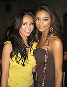 **EXCLUSIVE**.2007 Miss Universe Riyo Mori and 2007 Miss USA Rachel Smith.Boom Restaurant 15th Anniversary.New York, NY, USA .Wednesday, June 06, 2007.Photo By Celebrityvibe.To license this image call (212) 410 5354 or;.Email: celebrityvibe@gmail.com; .