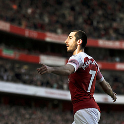 Arsenal v Southampton, Premier League, 24 February 2019