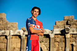 Aljaz Jarc during photo session of KK Adria Mobil before new cycling season, on January 17, 2019 in Side, Turkey. Photo by Vid Ponikvar / Sportida