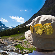 Junior Ranger, Glacier National Park, Montana.