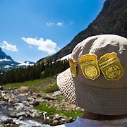Junior Ranger, Glacier National Park, Montana.