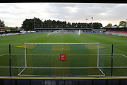 Cherry Red Records Stadium pitch during the EFL Trophy match between AFC Wimbledon and Tottenham Hotspur at the Cherry Red Records Stadium, Kingston, England on 3 October 2017. Photo by Matthew Redman.