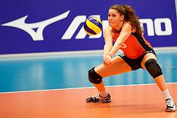 20140425 NED: Jong Oranje Vrouwen - Montenegro, Arnhem <br /> Romee Polman (8) The Netherlands <br /> ©2014-FotoHoogendoorn.nl / Pim Waslander