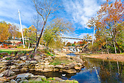 Falls Park on The Reedy River - Downtown Greenville, SC