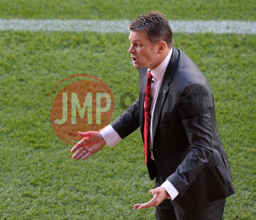 Bristol City manager, Steve Cotterill - Photo mandatory by-line: Alex James/JMP - Mobile: 07966 386802 - 11/10/2014 - SPORT - Football - Bristol - Ashton Gate - Bristol City v Chesterfield - Sky Bet League One