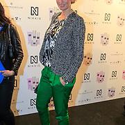 NLD/Amsterdam/20130205 - Modeshow Nikki Plessen 2013, Anouk Smulders - Voorveld