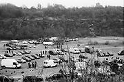 Frome Quarry car park, 2014