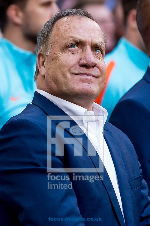 Dick Advocaat, manager of Netherlands before the 2018 FIFA World Cup Qualifying match at Amsterdam Arena, Amsterdam<br /> Picture by Joep Joseph Leenen/Focus Images Ltd +316 5261929<br /> 03/09/2017<br /> ***NETHERLANDS OUT***