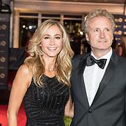NLD/Amsterdam/20171012 - Televizier-ring Gala 2017, Wendy van Dijk en partner Erland Galjaard