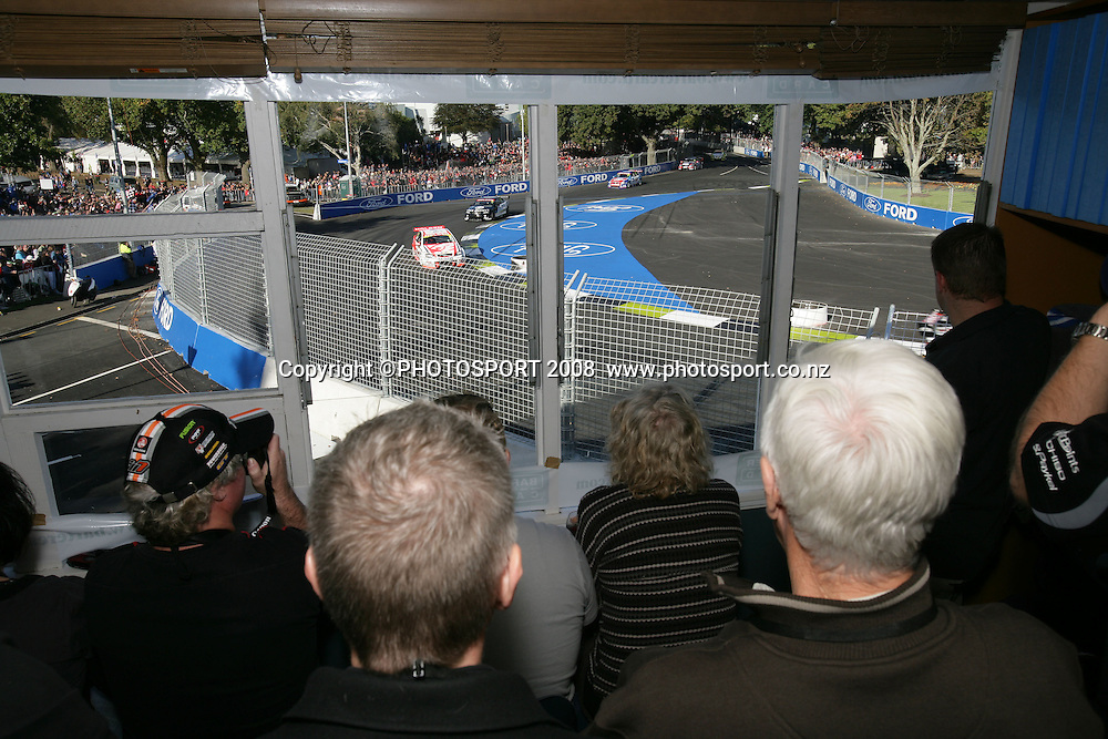 Bartercard corporate box. Hamilton 400, V8 Supercars. Hamilton, New Zealand. Sunday 20 April 2008. Photo: Stephen Barker/PHOTOSPORT