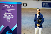 Martin Fuchs and Clooney 51 second in the world cup final<br /> FEI World Cup Final Gothenburg 2019<br /> &copy; DigiShots