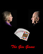 """Start of Advertisement Poster for the drama """"The Gin Game"""""""