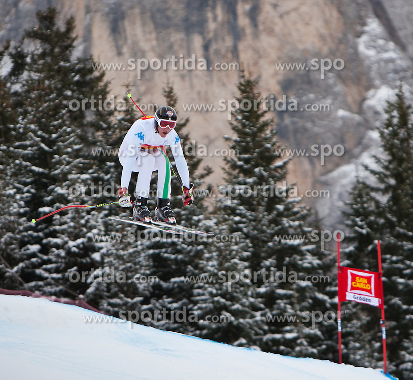 15.12.2011, Saslong, Groeden, ITA, FIS Weltcup Ski Alpin, Herren, 2. Training Abfahrt, im Bild Siegmar Klotz (ITA) // Siegmar Klotz of Italy during 2th practice session men's downhill at FIS Ski Alpine Worldcup at Saslong in Groeden, Italy on 2011/12/15. EXPA Pictures © 2011, PhotoCredit: EXPA/ Johann Groder