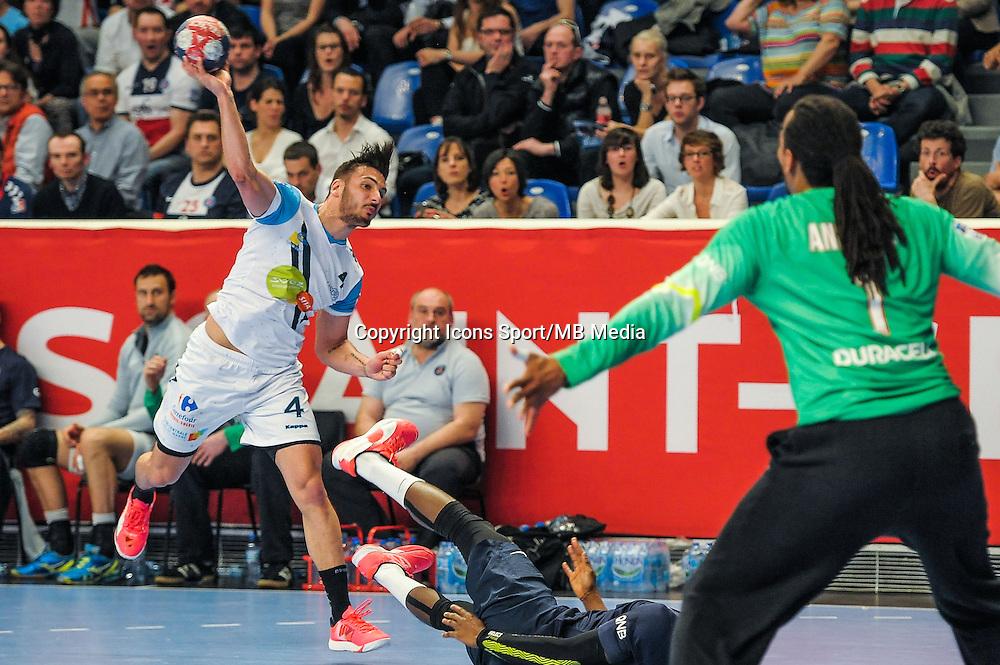 Hugo Descat - 22.04.2015 - PSG / Creteil - 21eme journee de D1<br /> Photo : Andre Ferreira / Icon Sport