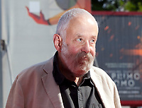 Director Mike Leigh at the premiere gala screening of the film Peterloo at the 75th Venice Film Festival, Sala Grande on Saturday 1st September 2018, Venice Lido, Italy.