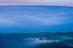 Steam Rising From Kilauea Crater, Hawaii Volcanoes National Park, Big Island, Hawaii, US